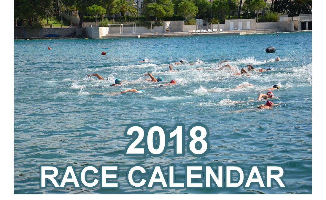 2018. Race Calendar